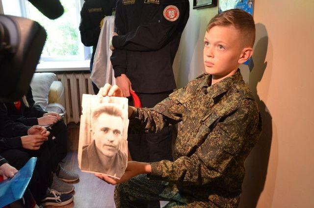 В Брянской области простились с героем, погибшим в 1943