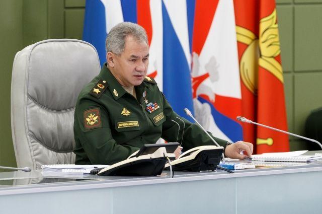 Шойгу прибыл с рабочим визитом в Белоруссию