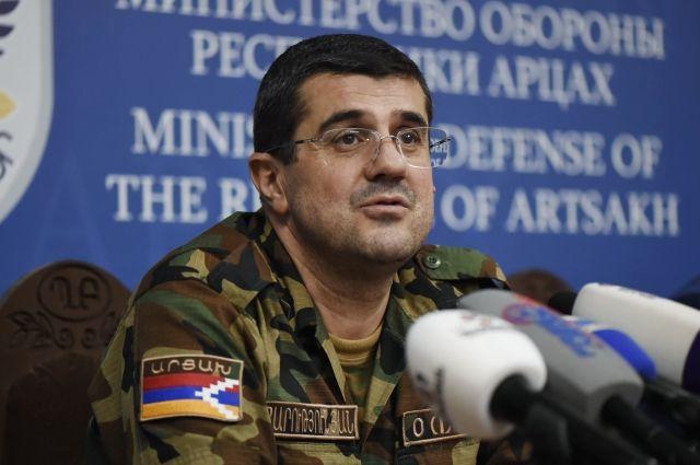 Президент Карабаха сообщил о возвращении своей семьи в Степанакерт