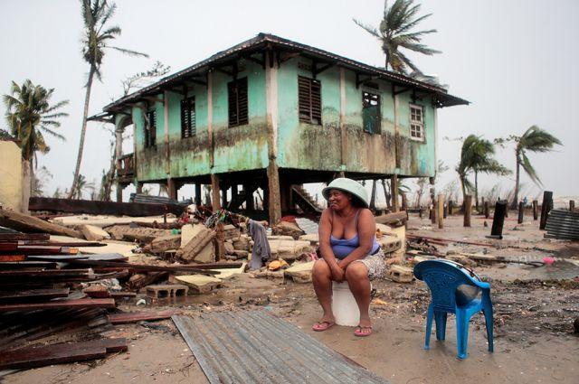 Ураган «Йота» в Центральной Америке