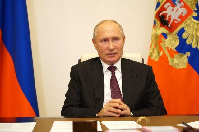 Путин поздравил с днем рождения дочку одного из участников видеоконференции