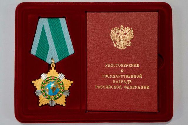 Брянского губернатора наградили орденом Дружбы