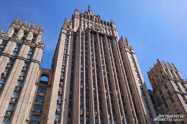 МИД РФ заявил о стягивании техники ВСУ к линии соприкосновения в Донбассе
