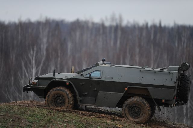 Предупредительный «Выстрел». Самая тяжеловооруженная российская бронемашина