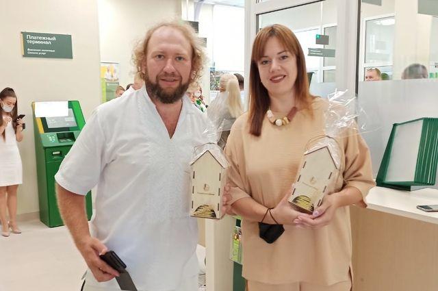 Амбассадоры Россельхозбанка поддержали открытие офиса в Карачеве