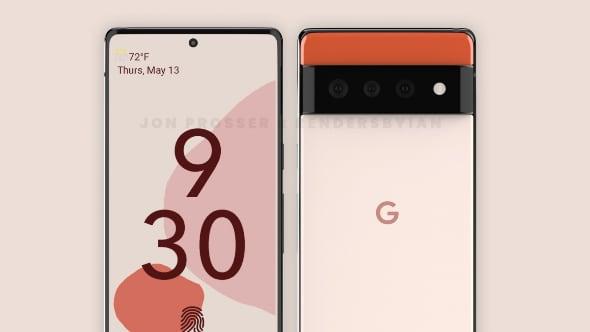 В сети появились качественные рендеры Google Pixel 6 и Pixel 6 Pro