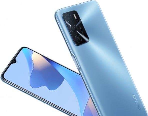 Oppo представила смартфон A16 с большой батарейкой