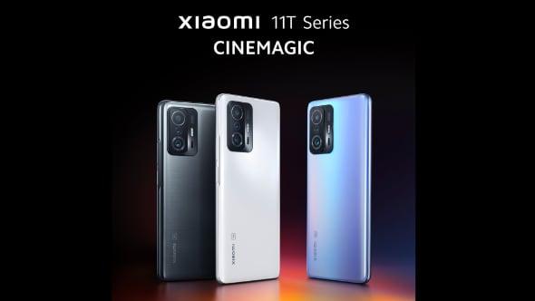 Xiaomi представила флагманские 11T и 11T Pro
