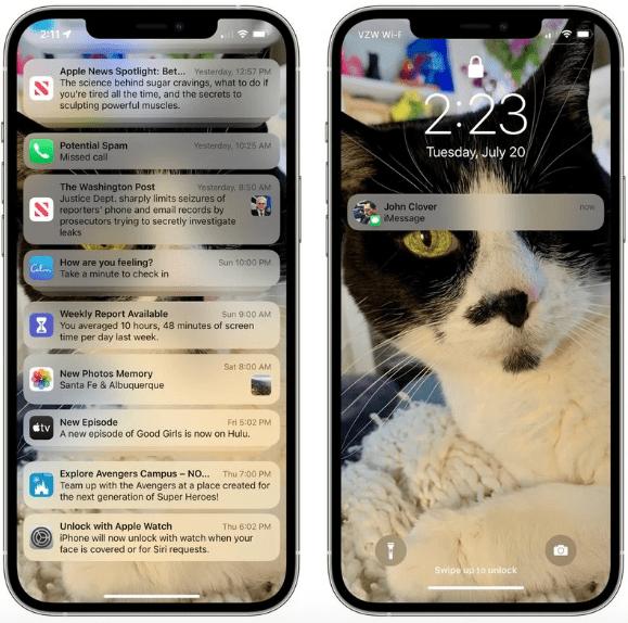 iOS 15: что нового в уведомлениях