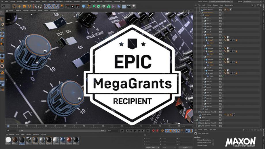 Авторы Cinema 4D получили $200 тысяч от Epic Games