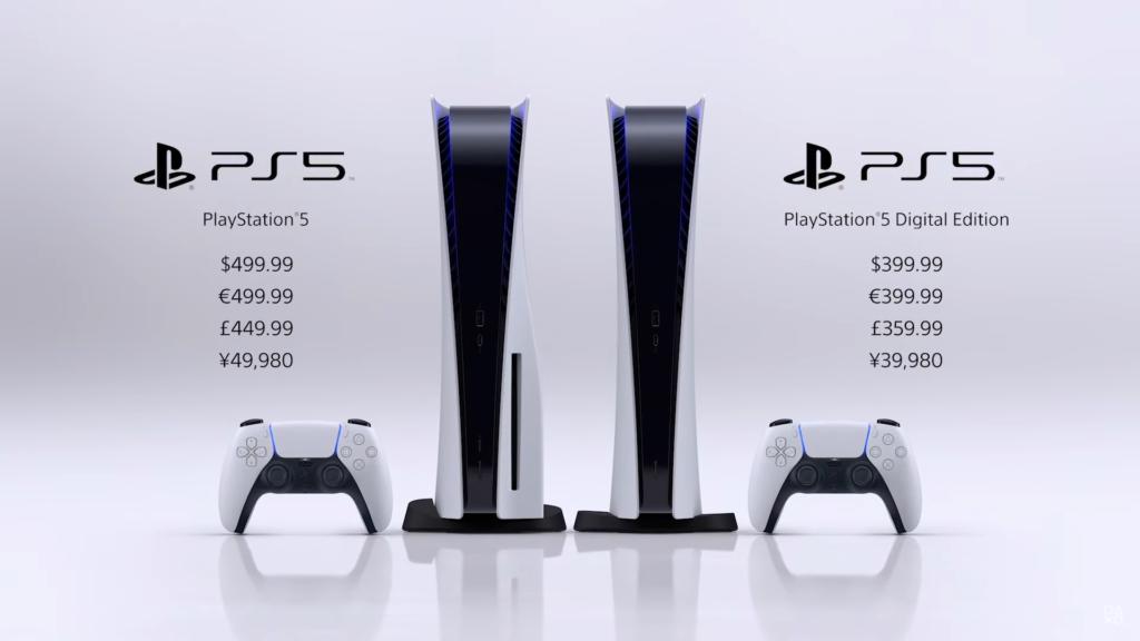 Sony назвала стоимость PlayStation 5. Она начинается с $399