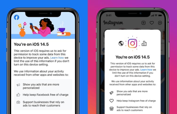Facebook и Instagram могут стать платными из-за iOS 14.5