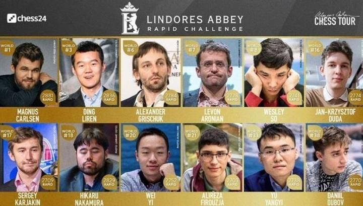 Шахматы. Карякин и Дубов вышли в плей-офф Lindores Abbey Rapid Challenge
