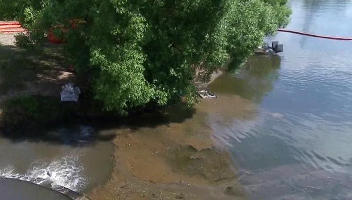 Военные опровергли причастность к загрязнению Химкинского водохранилища