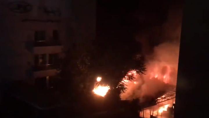 13 человек погибли в Тегеране от взрыва газа и пожара