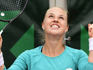 Теннисистка Блинкова преодолела второй круг турнира в Риме