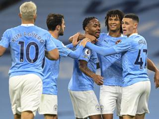 'Манчестер Сити' обыграл 'Арсенал' благодаря мячу Стерлинга