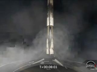 Первая ступень Falcon 9 села на платформу-дрон