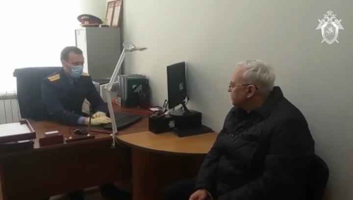 Появилось видео задержания высокопоставленного взяточника в Алтайском крае