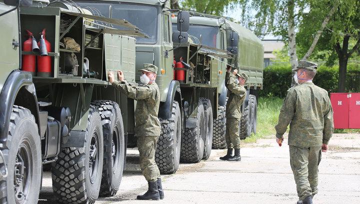 Коронавирус выявлен у 1384 военных Минобороны РФ