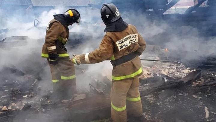 В Амурской области при пожаре погибли пять человек