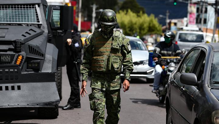 В здании телеканала в Эквадоре произошел взрыв