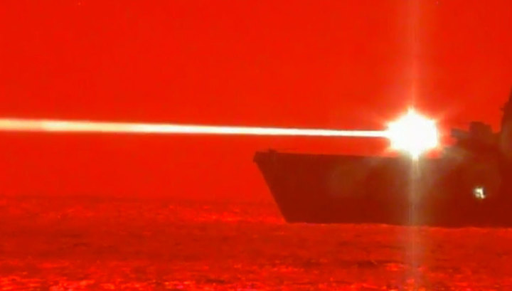 ВМС США испытали лазер для уничтожения беспилотников