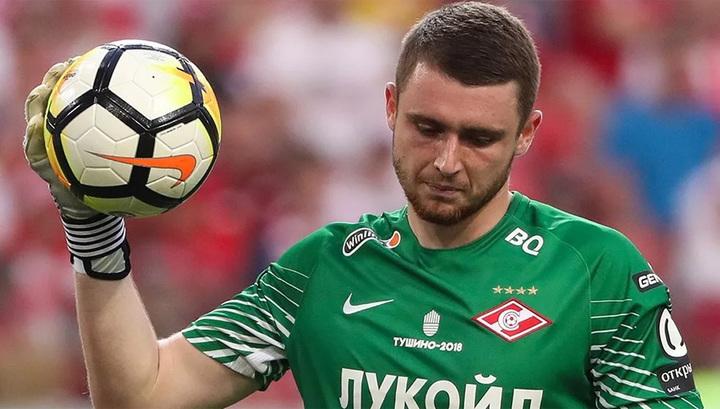 Вратарь 'Спартака' Селихов скоро приступит к тренировкам