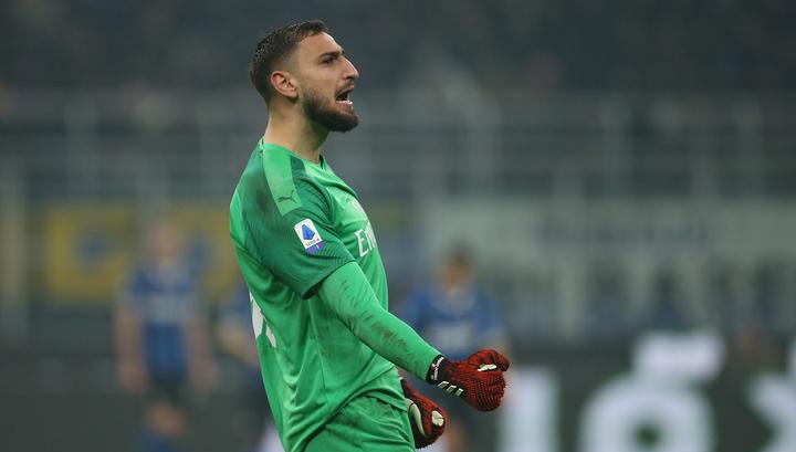 Доннарумма согласен продлить контракт с 'Миланом'