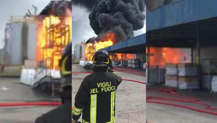 Взрыв прогремел на заводе по производству ацетона в Венеции