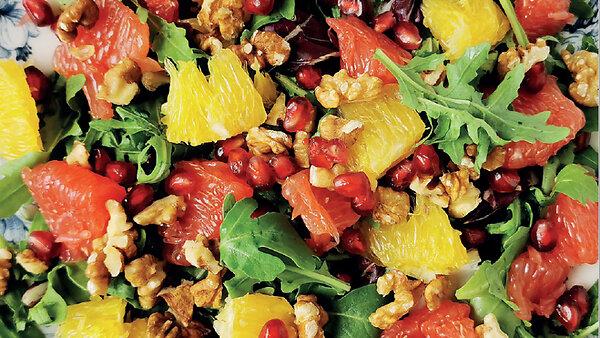 Цитрусовый салат с гранатом: рецепт блюда для укрепления иммунитета