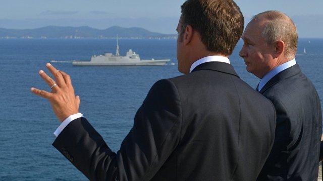 wPolityce (Польша): концерт держав на практике, или о чем беседовали Макрон и Путин