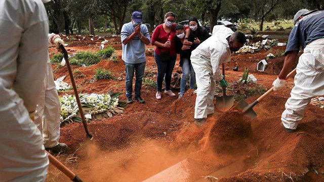 Forbes: Бразилия готовится занять второе место после США по числу заражений коронавирусом