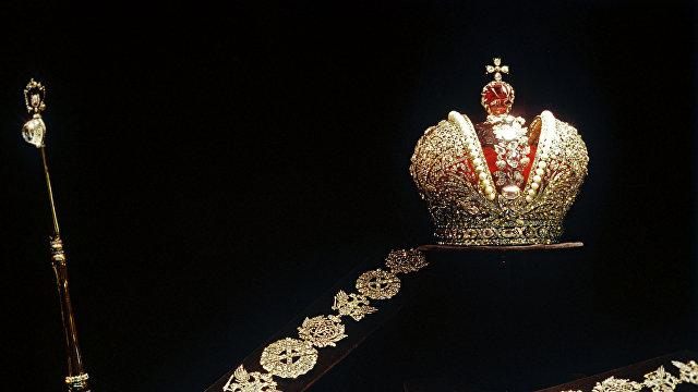 Paris Match (Франция): корона Екатерины II хранится в Кремле