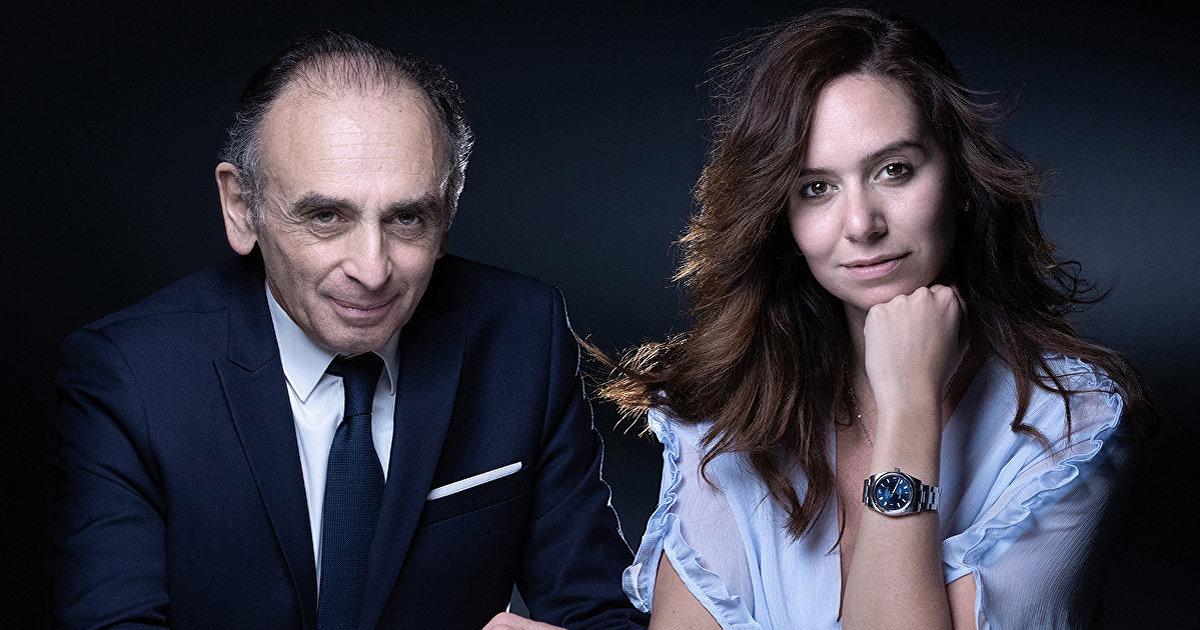 Paris Match (Франция): Эрик Земмур и его очень близкая советница Сара Кнафо (Paris Match)