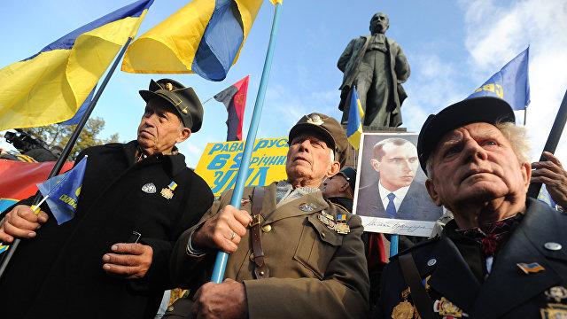 Страна (Украина): деды зиговали. Зачем депутаты Рады предлагают отпраздновать в 2021 году юбилей акта союза с Гитлером