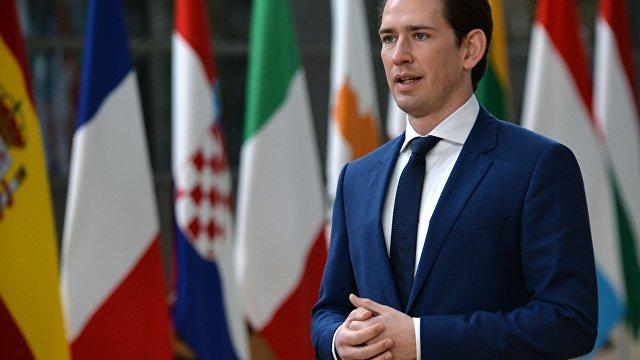 Канцлер Австрии за «Северный поток — 2» и против приема нелегальных беженцев из Греции