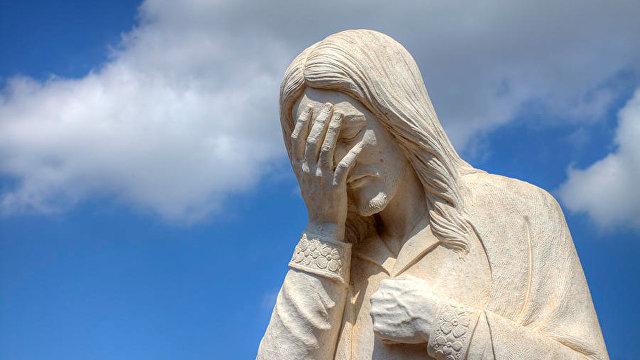 The Iceland Monitor (Исландия): Иисус с женской грудью вызвал споры в Исландии