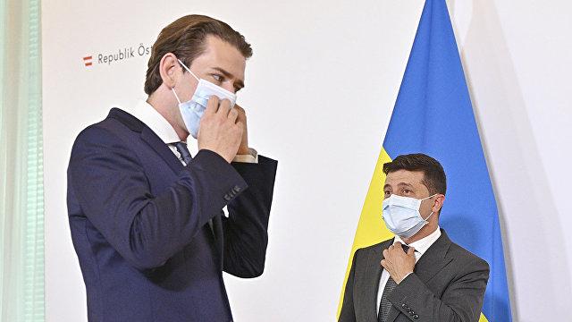 Страна (Украина): тайные встречи и перенос переговоров по Донбассу. Зачем Зеленский летал в Австрию