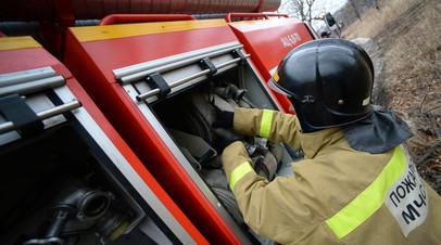 В Серпухове при пожаре в жилом доме погибли два человека