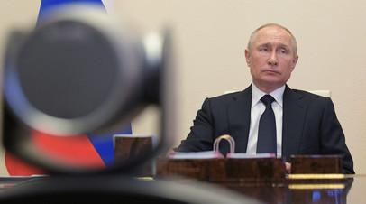 Путин подписал указ о порядке продления ограничений из-за коронавируса
