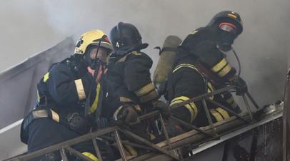 В Татарстане два человека погибли при пожаре в садовом доме