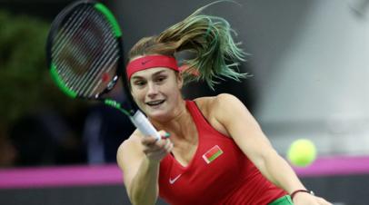 Теннисистка Соболенко опубликовала откровенное фото в свой день рождения