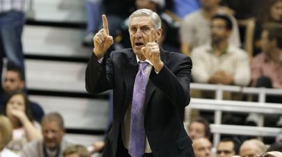 Скончался легендарный баскетбольный тренер Слоун