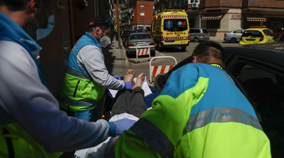 В Испании за сутки от коронавируса умерли 56 человек