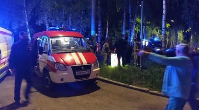 Пожар в больнице в Зеленодольске ликвидирован