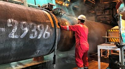В «Нафтогазе» оценили подготовку санкций против «Северного потока — 2»