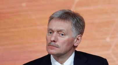 Песков назвал «чушью» сообщения о «сговоре» России с талибами