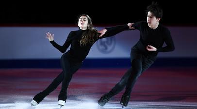 Фигуристы Нгуен и Колесник объявили о распаде танцевального дуэта