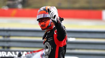 Мазепин прокомментировал свою первую победу в «Формуле-2»